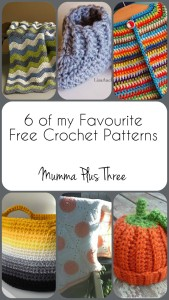 6 of my Favourite Free Crochet Patterns